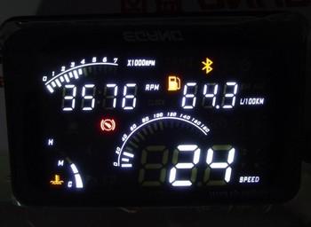 car pc  General bluetooth obd car hud head up display device intelligent speech tire fuel instrument trip computer