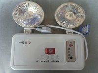 Isointernational double slider lighting lamp led fire emergency light