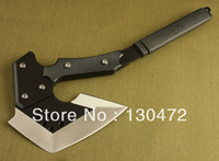 New Cross Firing Line 440 Steel ABS Handle camping axe tool Free shipping AX03