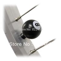 4 PCS/ Set Tire /Wheel Air Valve Cap Covers  Black POOL 8 Billiard Ball For Car Motorcycle Bike For TOYOTA BMW Honda VW Gift