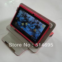 "Colorful Flip Leather Case Cover+Stylus For 10.1"" Kocaso M1061 M1062 M1060 M1050 Tablet PC Free shipping"