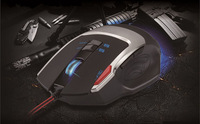Free shipping,8D optical wired gaming mouse, 8 buttons, 3500 dpi, game mode / multimedia mode, mouse gamer for CF, CS
