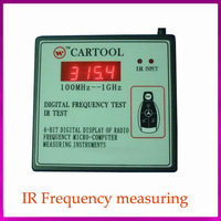 Wireless IR Remote Control Transmitter Frequency Meter Scanner Counter Wavemeter 250MHz-1GHz  Free Shipping AW-201