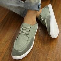 Free shipping 2013 fresh water wash denim canvas shoes male shoes skateboarding shoes  Men shoes
