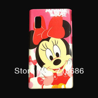 Cute minnie plastic back case cover skin for LG Optimus L5 E610 free shipping