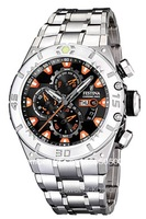 FESTINA CHRONO BIKE ORANGE HERRENUHR F16527/4 CHRONOGRAPH HERREN UHR UVP 249