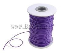 Free shipping!!!Wax Cord,tibetan, purple, 1.50mm, Sold By PC