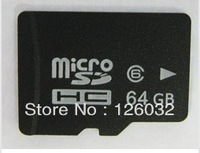 Real 64GB Class 6 MICRO SD HC MICROSDHC TF FLASH MEMORY CARD WITH SD ADAPTER