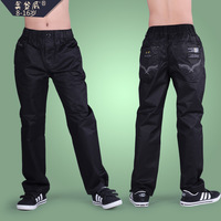 2013 spring male child casual pants child trousers