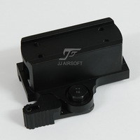 JJ Airsoft QD Mount for T1 / T-1 Red Dot (Black)