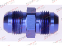 10 AN -10 to AN10 ALUMINIUM STRAIGHT union fitting adapter adaptor AD1005 blue