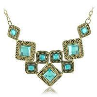 Vintage retro elegant women short jewelry Fashion bohemia multilayer necklace  free shipping HeHuanXLY093