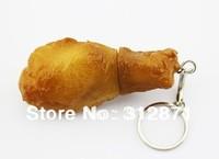 Free shipping 2GB 4GB 8GB 16GB 32GB 64GB Usb Flash Drive Pen Drive Memory Stick Cartoon Chicken Leg Drop Shipping
