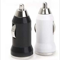 Multi color mini car charger lighter usb multifunctional charger