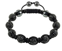 Shamballa jewelry Wholesale, free shipping, New Shamballa Bracelets Micro Pave CZ Disco Ball Bead HP001
