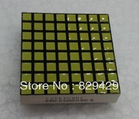 3MM white square lattice 8*8 DOT 1288AX (common cathode) 1288BX (common anode)  3pcs/lot Free shipping