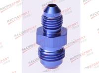 AN -6 (AN6) to AN -4 (AN4) Straight Reducer Adapter adaptor fitting AD2002 blue