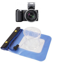 NEW practical DSLR SLR Camera Waterproof  Underwater Housing Case Pouch Dry Bag For Canon Nikon SONY