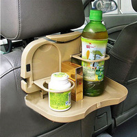Free shipping  Car back dining table folding back of the car drink holder dish glass rack chair back drink holder