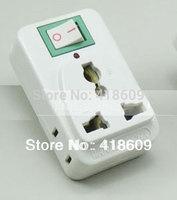 10 X BULK LOTS SWITCH Universal Travel Adapter Convert AU US UK EU TO AU US AC Plug COME With Switch FOR AUSTRALIA USA