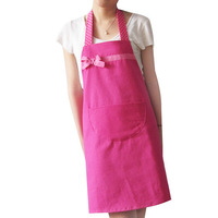 Aprons fashion work wear princess apron canvas rose