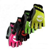Mountain bike gloves giant semi-finger gloves summer breathable slip-resistant shock absorption ride sports gloves