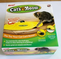 Free shipping retail Undercover Mouse cat toy panic mouse cat's meow electronic cat toy cat training tool TV042