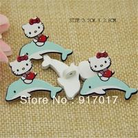 Free Shipping 50pcs sweater pure wood self-shade decorative pattern cute button (AYA30b034X01)