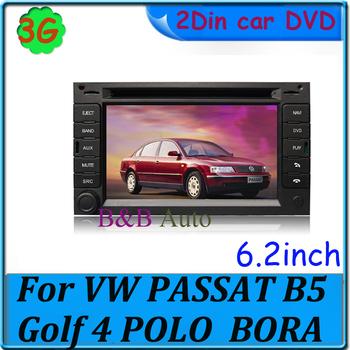 "3G car radio For VW PASSAT B5 Golf 4 POLO  BORA Car PC ! 6.2 "" Touch screen car PC with GPS iPod BT Radio USB SD"