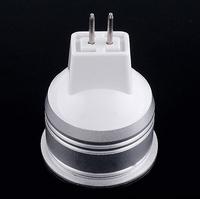 Free shipping 5pcs/lot 1W Warm White LED lamp, GU5.3 LED Bulb Lamp , living room light