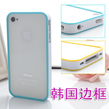 Ultra-thin 4s  for iphone   mobile phone  for apple   4 ring protective case