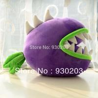 "Plants vs Zombies Series Plush Toys Cushion Chomper 36*42CM/14*16"""