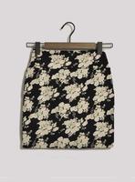 Fashion metal rivet print short skirt slim hip skirt a-line skirt bust skirt plus size