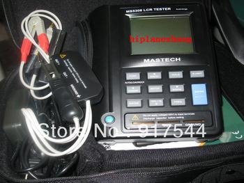 Handheld LCR Meter Inductance Capacitance Resistance Tester D Q Theta ESR 100KHz RS232 Big LCD Display MS5308