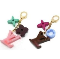 Fashion and Popular brand , Super- thick Clover Key Chain , High quality bag Pendant Accessories .