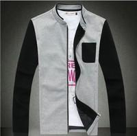 The fall of man's collar Korean color Jacket Mens thin jacket