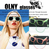 2014 New Fashion House of Holland Sunglasses Candy Colour Frame Women Vintage Sunglasses Retail 1pcs Free Shipping