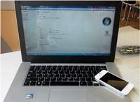 "14.1""Ultra slim laptop&notebook Intel A D2500  4GB&160GB,WIFI Webcam ,LED screen,touch keyboard"