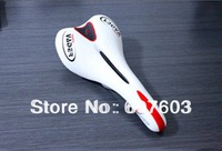 20145 Vader Cycling Bike Bicycle Pro Road Saddle White lmitation leather MTB Mountain Ultralight Saddle