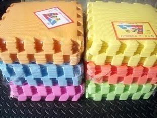 Colorful eco-friendly quality Baby puzzle foam mats foam floor crawling mat eva cartoon mats 30x30cm 9 pcs a pack free shipping