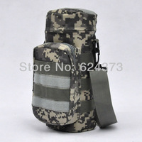 ACU Digital Canteen Water Bottle Pouch Molle With Small Mess Pouch Cover Tactical
