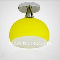 Wholesale lamps design 110v 220v e27*1 lamp holder iron glass modern ceiling lights for children room home residential lighting
