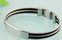 119.2013 New Style Fashion Bangle FACTORY PRICE  Hot Selling Stainless Steel Free Shipment