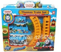 Small gift box thomas rail car electric thomas track car puzzle track car electric train
