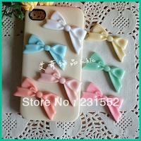 50pcs/lot,45mm resin kawaii bows  flatback resin cabochon bow embellishments for girl hair centre diy craft,scrapbooking