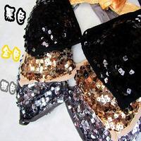 Costumes sexy halter-neck straps jazz paillette bikini sequin bra 5