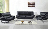 Leather furniture 2013 new genuine Leather modern sectional sofa set, 123 Chair Love Seat & sofa european style sofa  L9076
