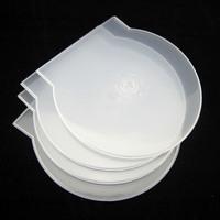 FREE SHIPPING 10 PCs Soft Plastic CD VCD DVD Case Holder Bag Box Designed for Single CD