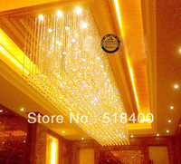 Name Brand  New Arrival Modern Luxury Fashion Drawing Room Bedroom Crystal Pendant Chandelier Light 1200*600*500mm
