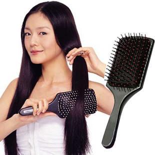 Comb flat comb air-sac care massage comfortable big comb scalp hairdressing tool 110g